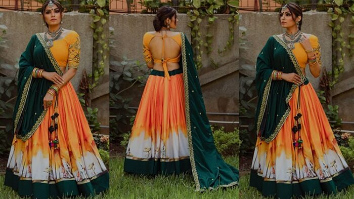 wedding ghagra choli designs with price