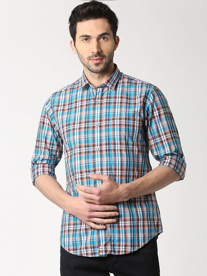 casual shirts design and pants combination online