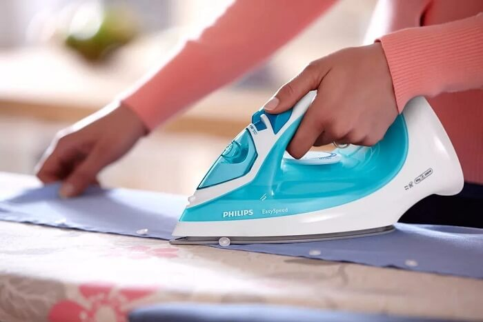 philips steam with indicator light iron