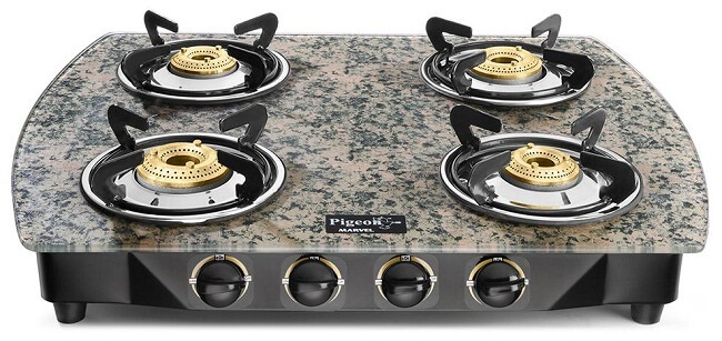 piegon best selling gas stove brand in india