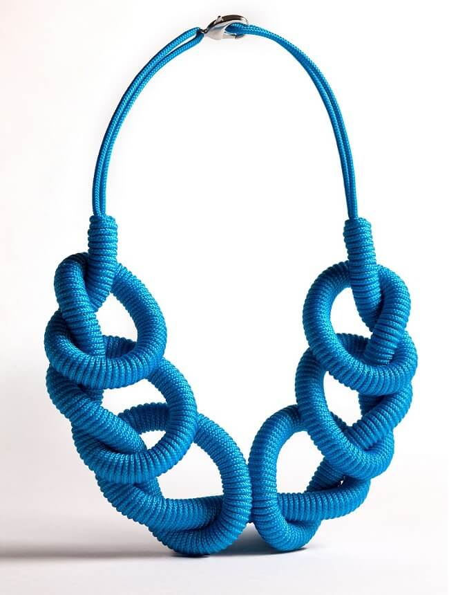 rope necklace design for women