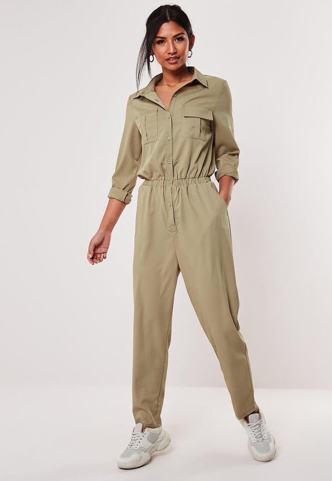 types of shirt jumpsuits