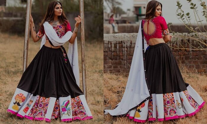 navratri chaniya choli collection 2019