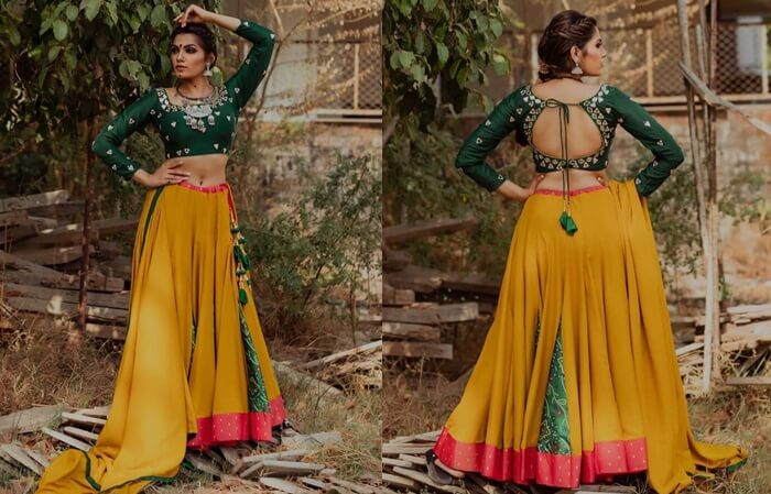 lehenga choli designs for navratri