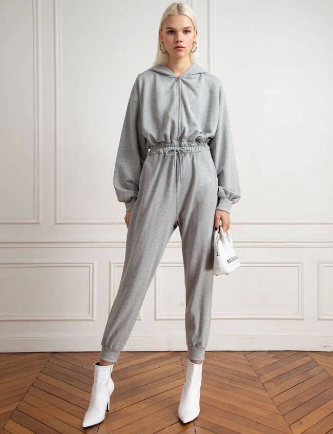 jumpsuit with jacket