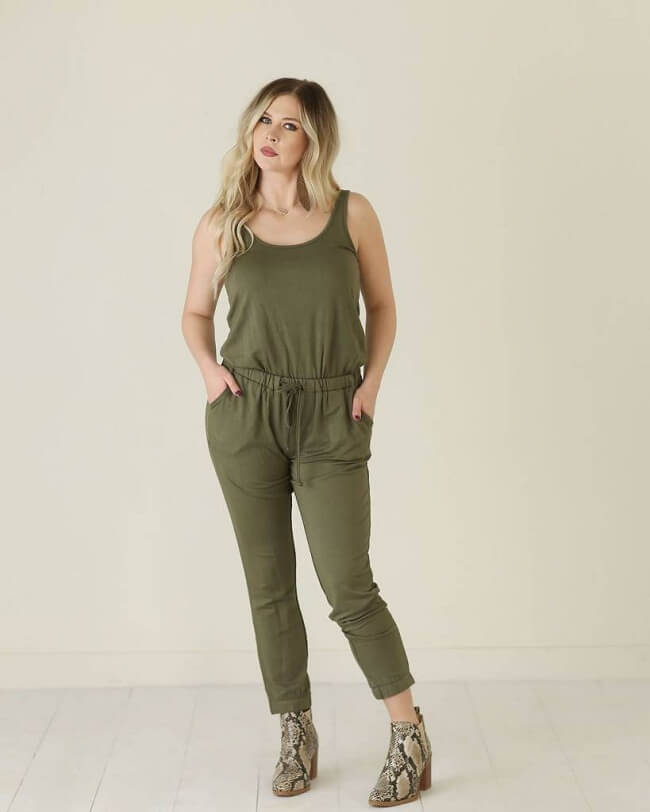 types of evening jumpsuits