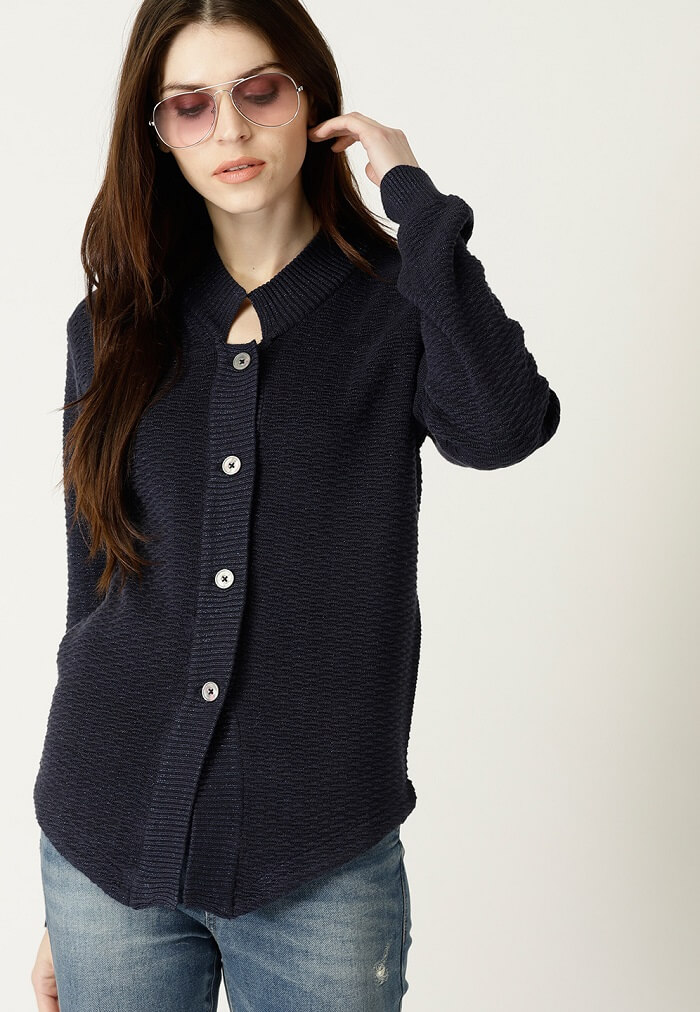 longline cardigan price in india