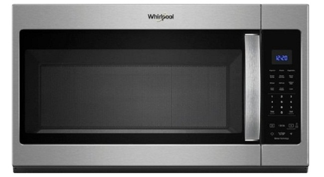 microwave oven with charcaol lighting heater