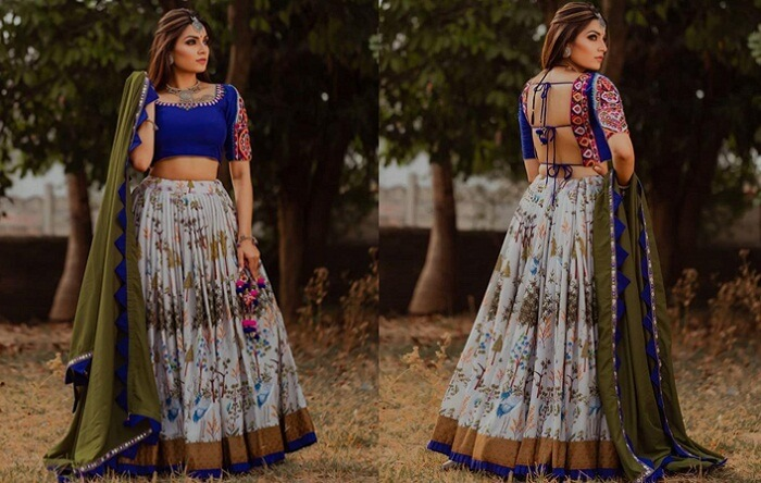 ghagra choli designs with price