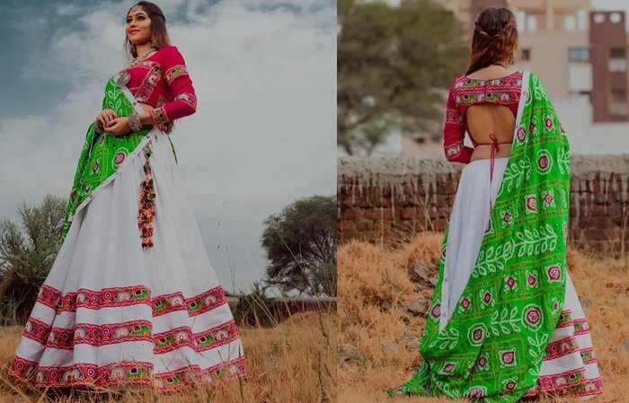 ghagra choli blouse designs catalogue