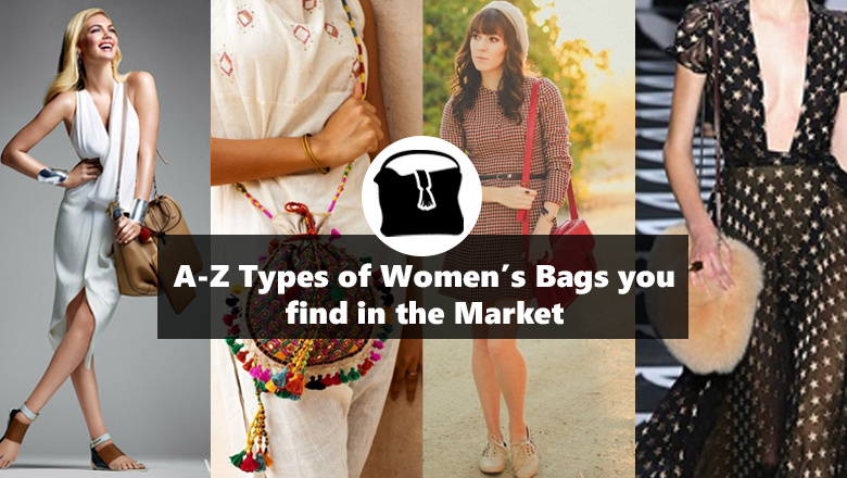 different types of bags designs photos for women