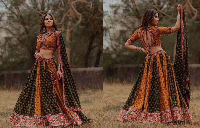 lehenga choli new latest pattern