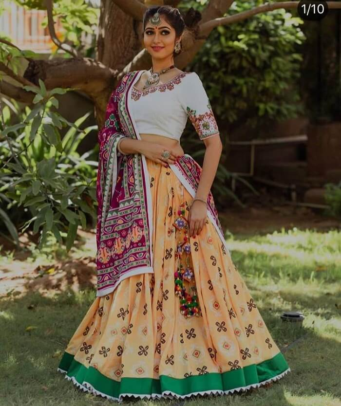 chaniya choli for navratri 2019
