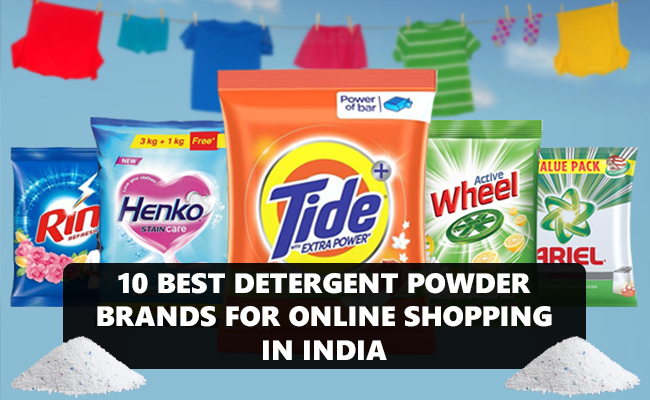 detergent powder brands in india