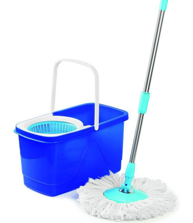 Cello Kleeno Dual CleaningMop with Bucket