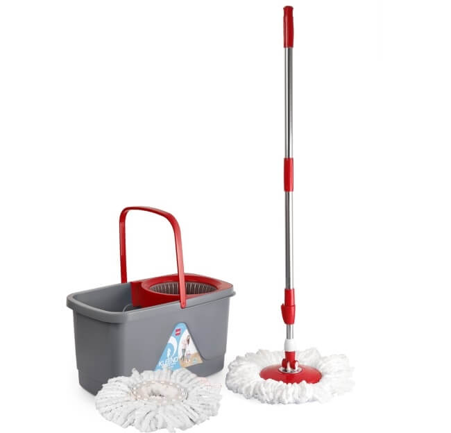 Cello Kleeno Total Clean Mop with Bucket