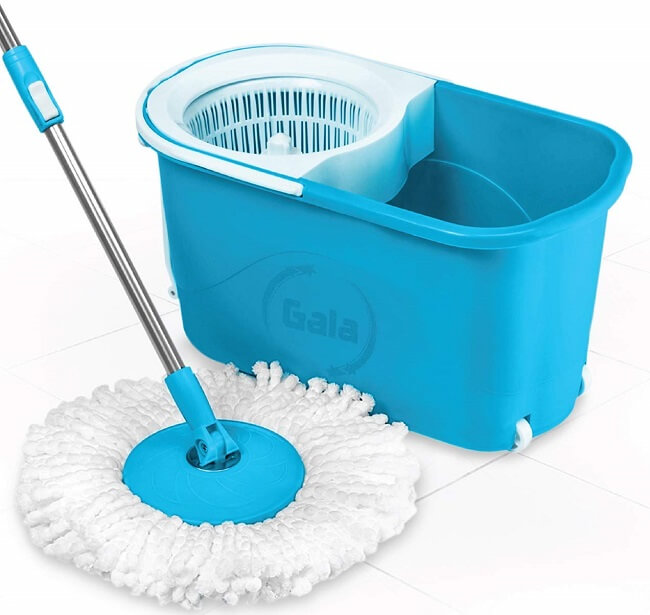 Gala 360 Degree Spin Mop with Bucket