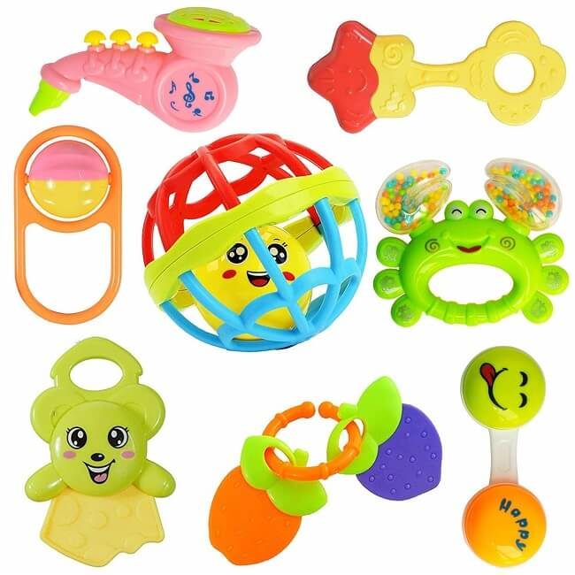 best teether for 4 month baby