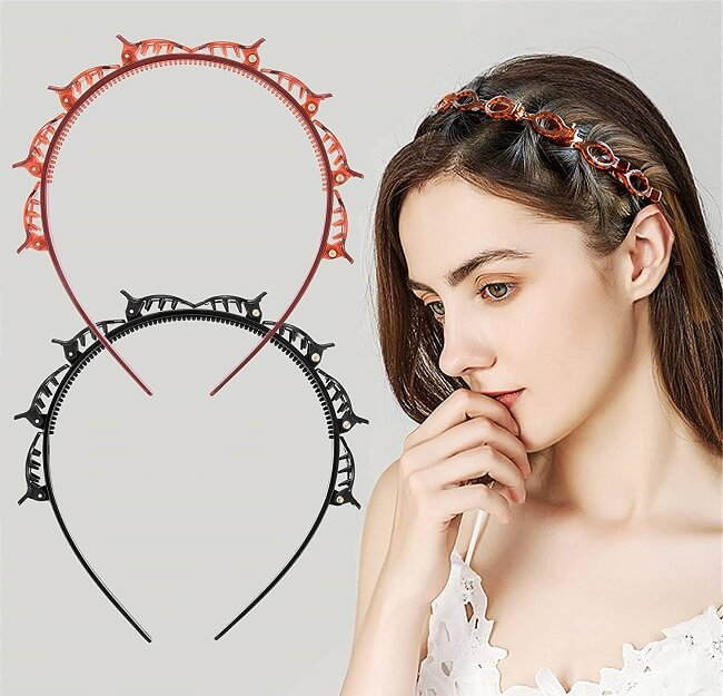 hair style accessories for wedding