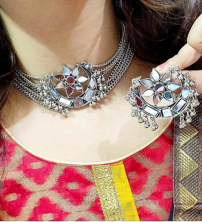jewellery set gold plated