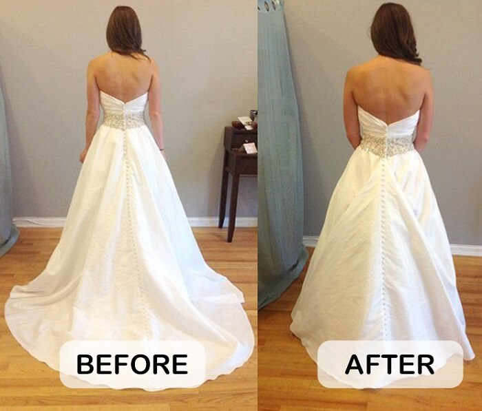 cost for wedding dress alterations