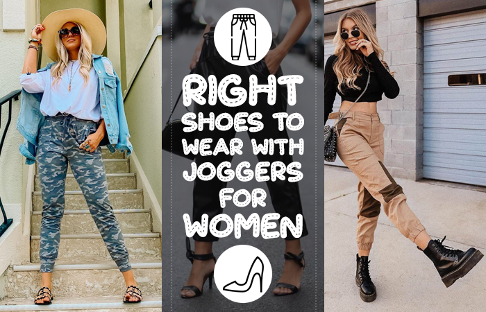 what shoes to wear with joggers women's