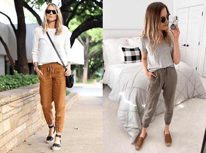 What shoes to wear with joggers in winter