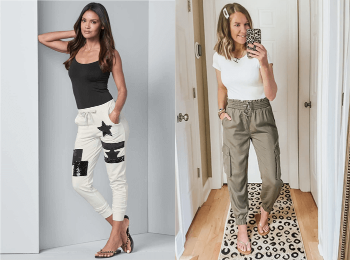 what footwear to wear with joggers