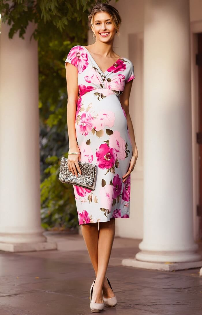 can you wear non maternity dresses when pregnant