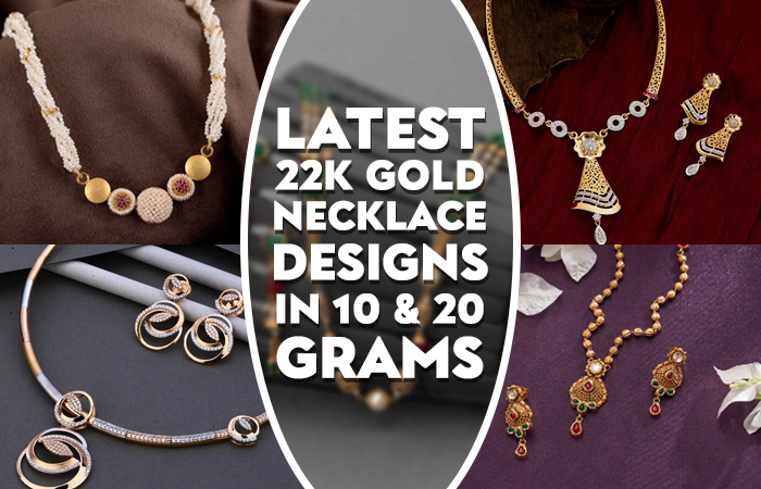 22k gold necklace sets with price
