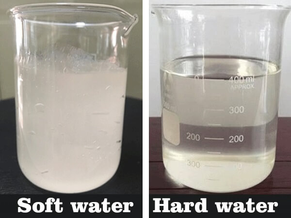 is soft water good for washing clothes
