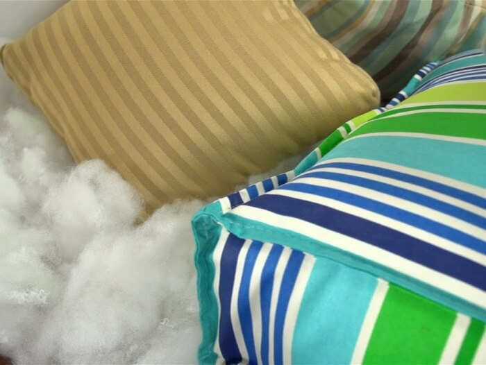 polyester pillow stuffing