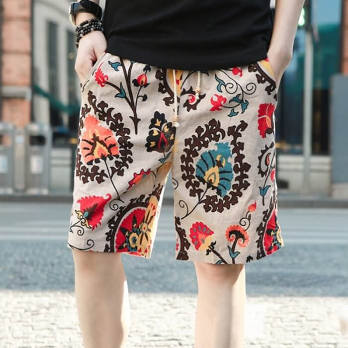 types of men's casual shorts