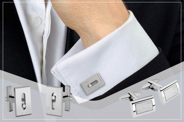 how to use cufflinks and studs