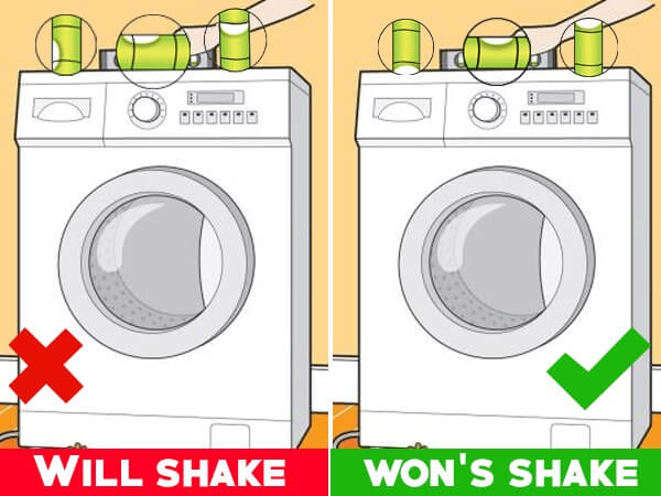can we use washing machine continuously
