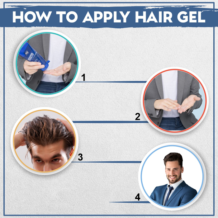 how to use hair gel the right way