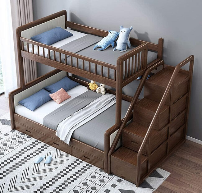 cheap bunk bed with stairs, best bunk beds for kids