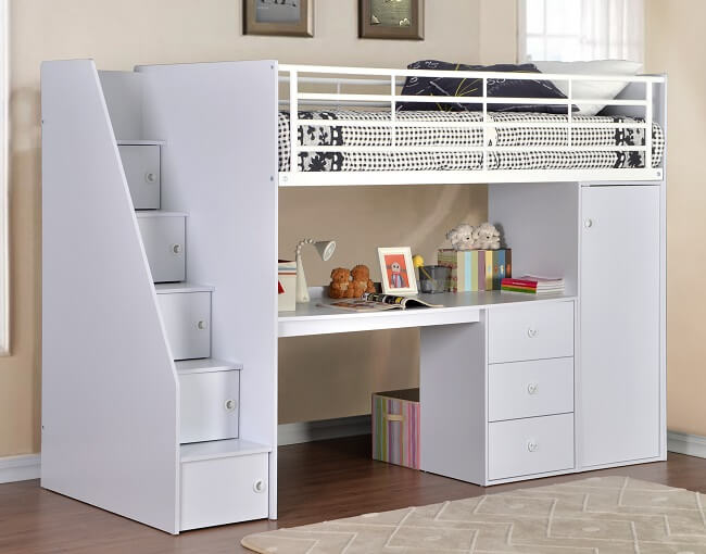 cheap cabin bed with storage, buy mid sleeper cabin bed