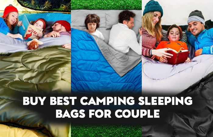 Sleeping bags that zip together