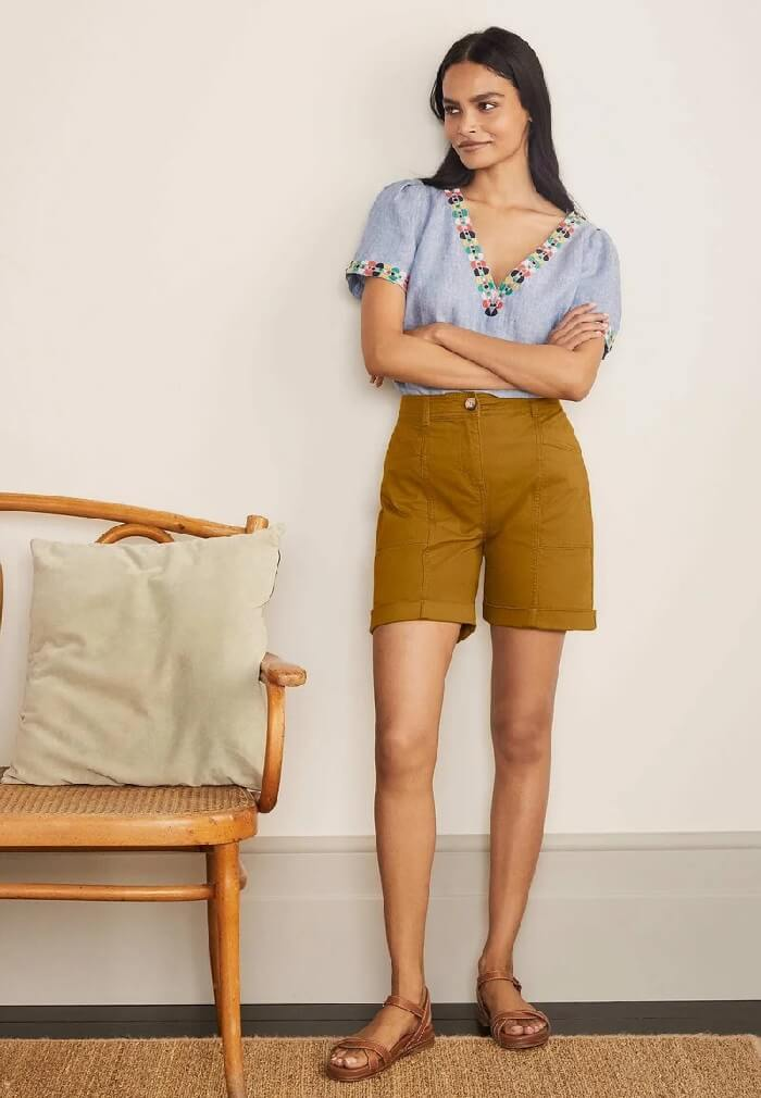 Work appropriate shorts womens