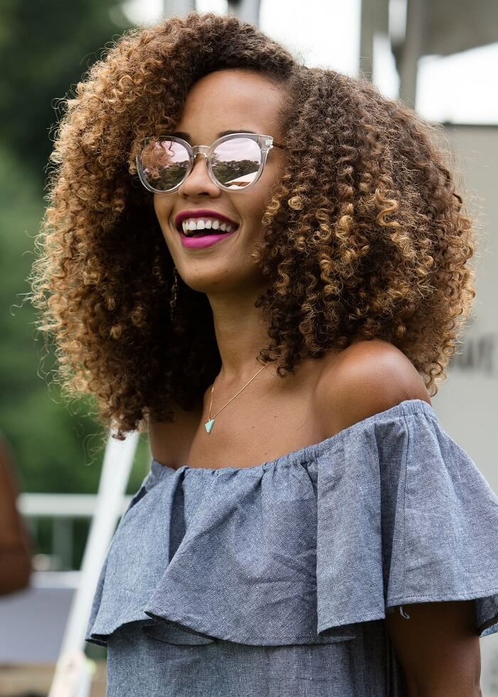 curly hair cut style for girl