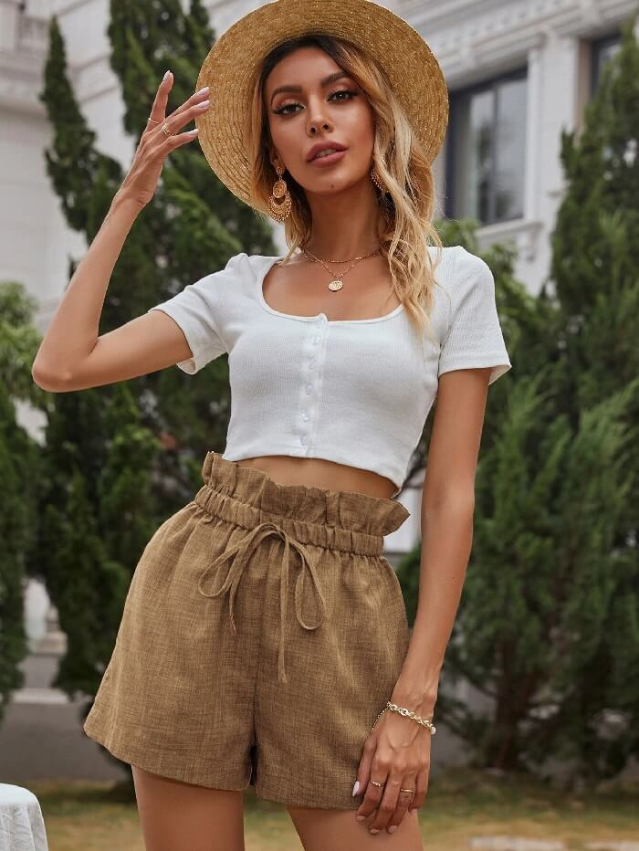 Shorts outfit ideas