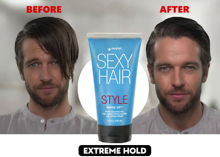 extreme hold styling hair gel