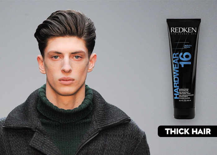 gel for thick hair