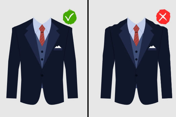 Suit with jeans combination
