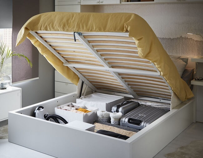 hydraulic storage beds online, best storage beds for small rooms
