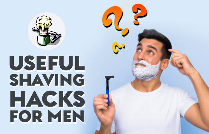 how to shave face men