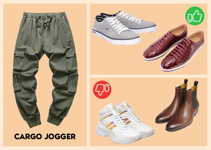boots to wear with joggers