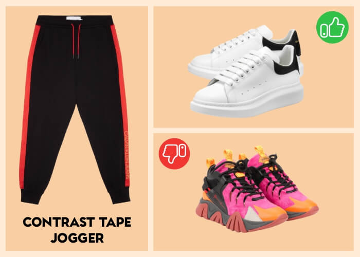Men's Sneakers to Wear With Joggers