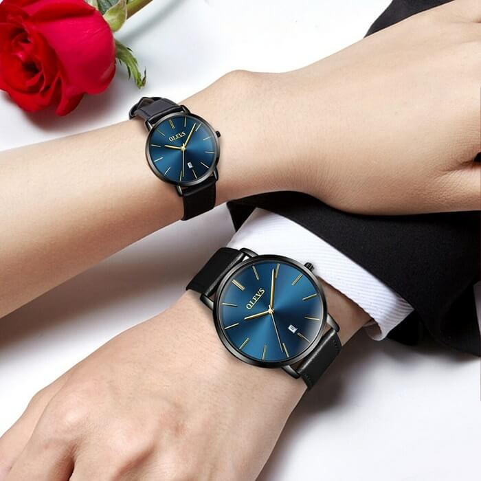 matching watch set for couples